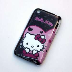 Hello Kitty Purple heart Back Hard Case Cover for Iphone