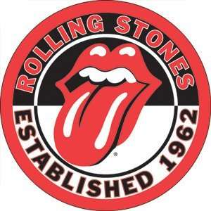 Rolling Stones Established 1962 Button B 0943 Toys & Games