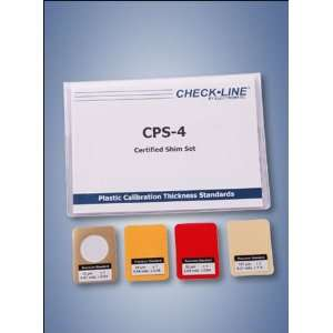 Checkline CPS 60 Coating Thickness Gauges Certified Plastic Shims