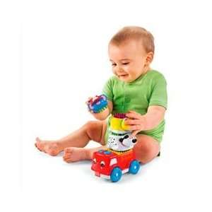 Fisher Price Brilliant Basics Shake & Stack Firetruck