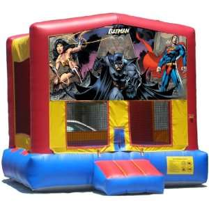SuperHeros Bounce House Inflatable Jumper Art Panel Theme