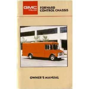 1987 GMC FORWARD CONTROL TRUCK Owners Manual User Guide Automotive