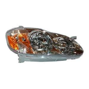 TYC 20 6235 90 Toyota Corolla Passenger Side Headlight
