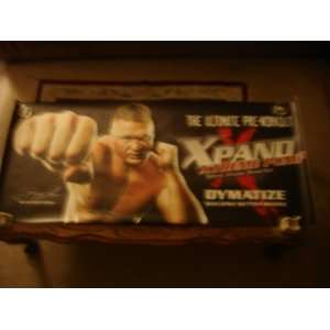 PUMP WALL BANNER BROCK LESNAR MMA H/W Champion Dymatize Books