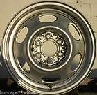 Dodge Dakota Pickup 15x6 Silver Steel Rally Wheel Rim Refinished 6