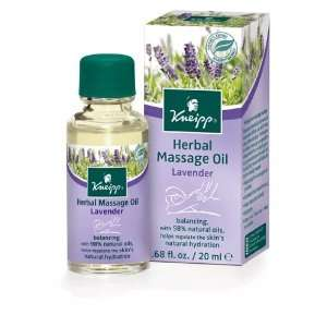 Lavender Herbal Massage Oil