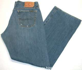 Lucky Brand Fender Relaxed Boot Cut Denim Jeans Mens Size 36 x 34 Long