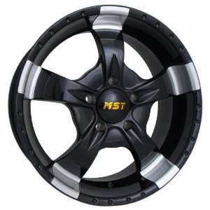 854 (Gloss Black w/ Machined Accents) Wheels/Rims 8x165.1 (854 78582