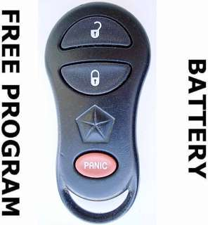 RAM 2500 Dodge Caravan DURANGO Town & Country KEYLESS REMOTE 04686481