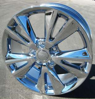 NEW 20 FACTORY DODGE DURANGO JEEP GRAND CHEROKEE OEM Chrome Wheels