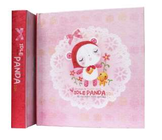 2011 Daily planner Idle PANDA character Diary hardcover