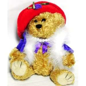 The Red Hat Ladies Teddy Bear Toys & Games