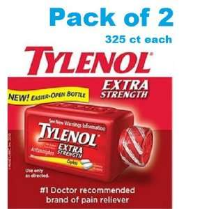 Tylenol Extra Strength Pain Reliever Acetaminophen 500 Mg