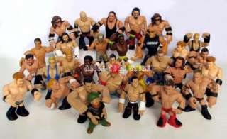 10pc WWE WWF Wrestling RUMBLERS Figure Toys (Randomly Assigned)