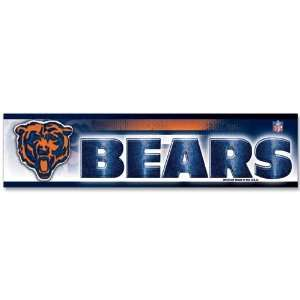 Chicago Bears Car Auto Bumper Strip Sticker Sports