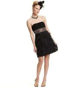 NEW SUE WONG BLACK COCKTAIL EVENING DRESS 10 NWT $358