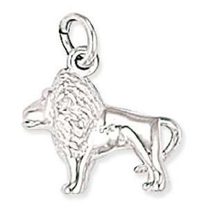 Sterling Silver Lion Charm   CM025   16mm x 14mm Jewelry