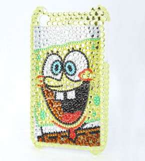 SpongeBob SquarePants back bling case cover for iphone 3G 3GS