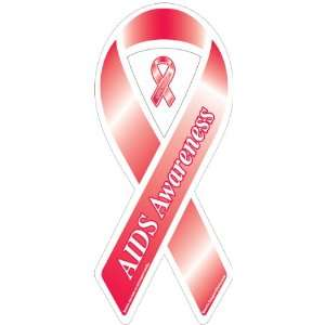 AIDS Awareness Ribbon Magnet