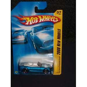 com Hot Wheels 2008 037 37 New Models Blue Camaro Convertable Concept