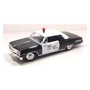 1965 Chevy Chevelle Malibu State Police Car 1/24 Toys