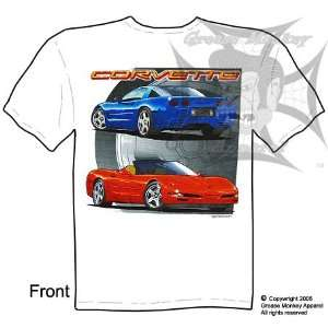Chevrolet Corvette, Muscle Car T Shirt, New, Ships within 24 hours
