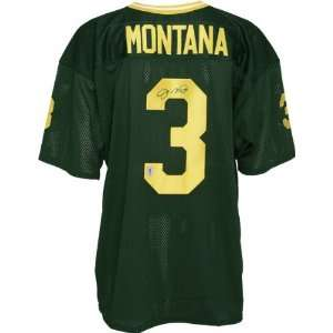 Joe Montana Autographed Jersey  Details Notre Dame Fighting Irish