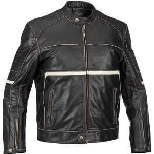 RIVER ROAD VICTOR VINTAGE JKT BLK 54 11/J/3195 Automotive