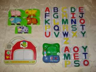 Leap Frog Farm and Fridge Magnets Extra Letters