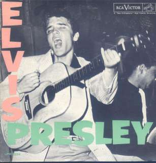 Elvis Presley Self Titled 1st Album LP VG++ Canada RCA LPM 1254