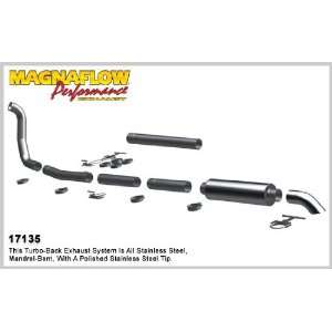 Cat Back System for 1999 2003 Ford Diesel Extended Cab / Crew Cab 4in