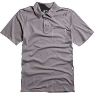 Fox Racing Outfoxed Polo Shirt GRAPHITE GREY Md Clothing