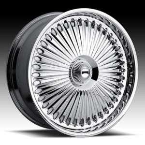 24 DUB BELLAGIO SPINNER CHROME WHEEL SET