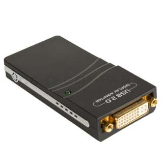 UGA USB To DVI VGA HDMI Multi Display Graphics Adapter Converter