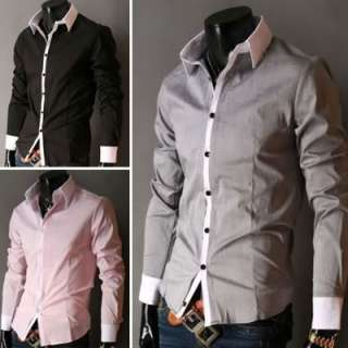 Mens Top Designed Casual Slim Fit Skinny dress vest Waistcoat 2COLORS