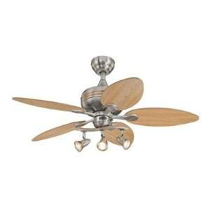 Westinghouse Lighting 72265 44 Xavier Ceiling Fan in Brushed Nickel