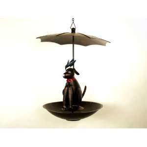 Black Lab Bistro Flat Bottom (Bird Feeders)