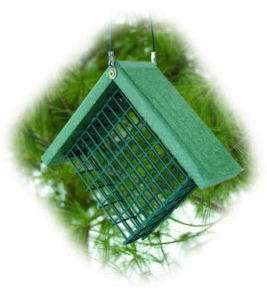 SUET BIRD FEEDER   Woodlink   GOING GREEN Recycled NEW