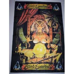 BLIND GUARDIAN 5x3 Feet Cloth Textile Fabric Poster
