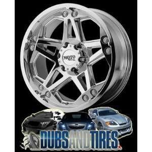 20 Inch 20x9 MOTO METAL wheels MO960 Chrome wheels rims