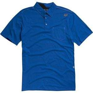 Fox Racing Outfoxed Polo   Small/Blue Automotive