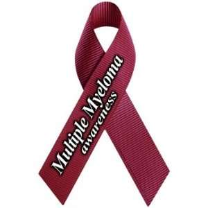 Multiple Myeloma Awareness Ribbon Magnet Automotive