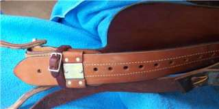 Nice Billy Cook 14 Barrel Racing Saddle Sulphur OK