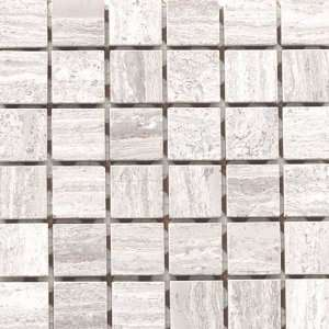 Light 1 x 1 Inch Mosaic 12 x 12 Inch Stone Floor Wall Tile (10 Sq. Ft