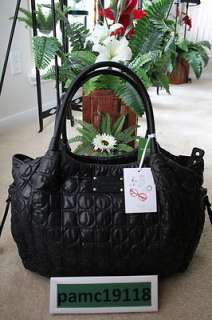 NEW YORK STEVIE BABY BAG CHAMONIX BLACK @$395 (098689319292)