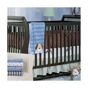 Carters Super Soft Crib Bumper   Chocolate Baby