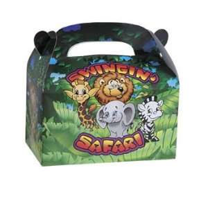 Swingin Safari Filled Treat Boxes   Party Favor & Goody Bags & Filled