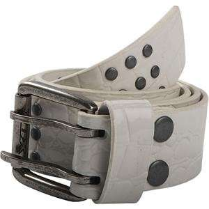 Fox Racing Slither Belt   32 34/White Automotive