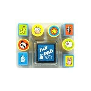 Cute Animals Rubber Stamp Set Arts, Crafts & Sewing