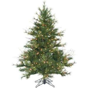 4.5 Clear Pre Lit Mixed Country Pine Christmas Tree